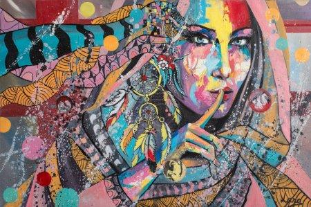 """Dream Catcher"" oil painting"