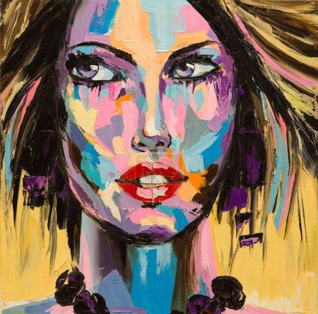 """Sparkle"", original oil painting"