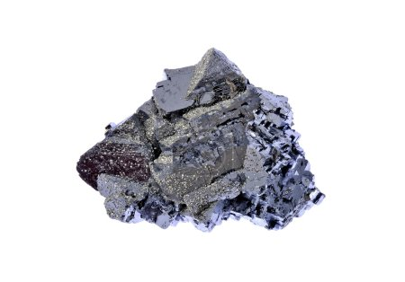 Galena, beautiful forms with metallic luster...