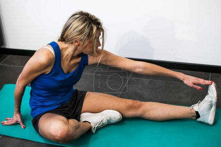 fitness and stretching