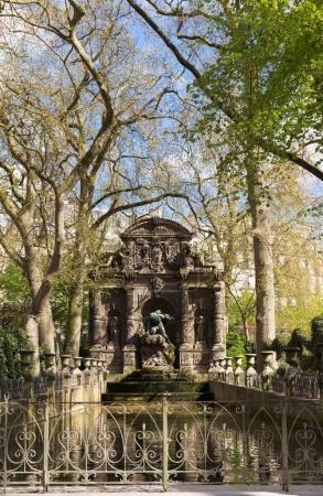 The Medici Fountain, France. Paris.
