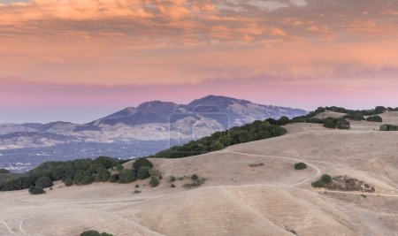 Mt Diablo Sunset Contra Costa