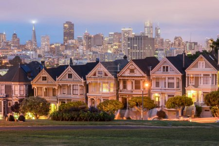 Dusk Over The Painted Ladies