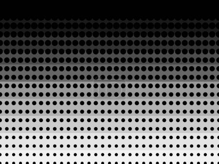 Halftone pattern background texture, round spot shapes, vintage or retro graphic, usable as decorative element.