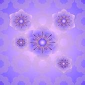 Modern stylish floral texture Seamless geometric pattern of circles