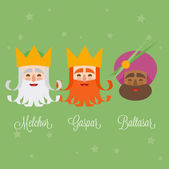 three kings of orient isolated.