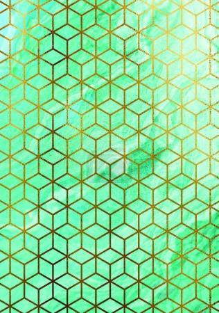 green cubes texture