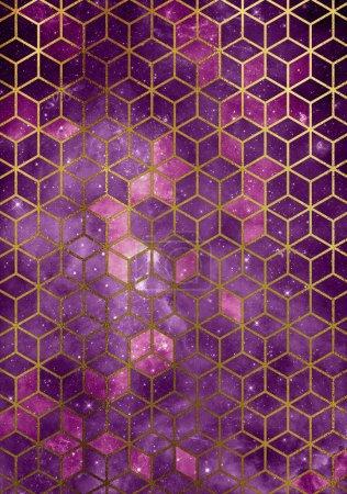 pink cubes texture