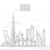 contour architecture in Dubai