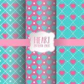 Heart pattern pack