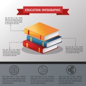 Books icon Education and learning infographic theme Grey background Vector illustration