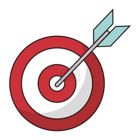 target blank arrow objetive