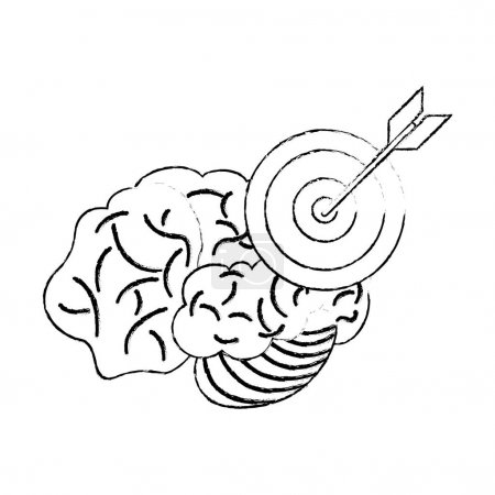 brain target objetive sketch