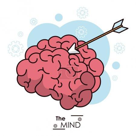 the mind arrow target objetive business design