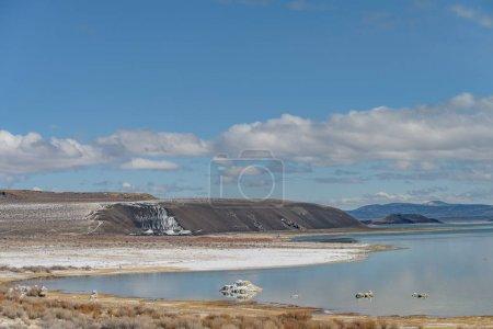 Northern west shoreline of Mono Lake in California, USA