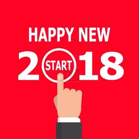 Start new year 2018 idea.