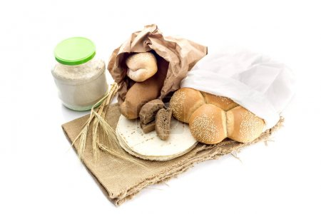 A variety of bakery products