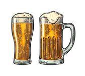 Set glass beer