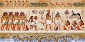 Egyptian gods and pharaohs Ancient Egypt scene mythology