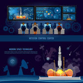 Mission Control Center start rocket in space Space shuttle