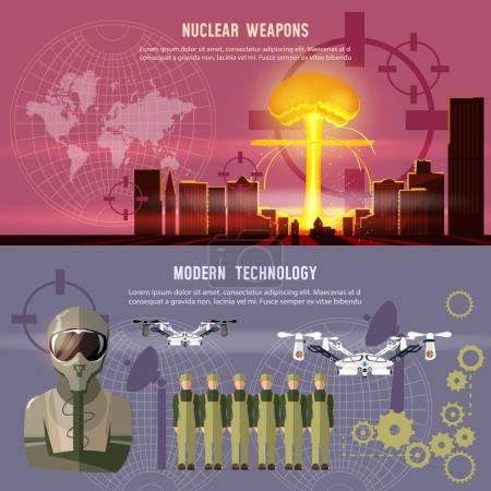Confrontation between the superpowers. Nuclear war