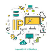 IP-Adresse - Line Konzept
