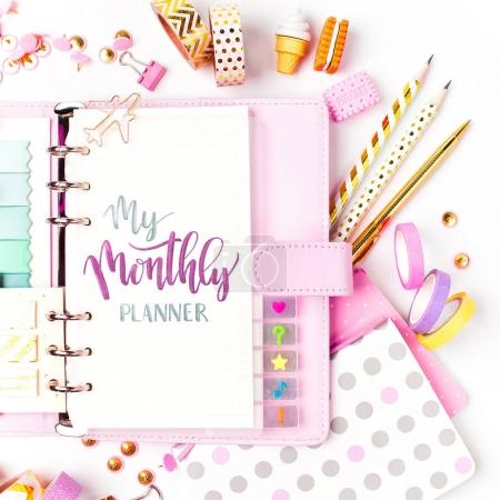 Monthly planner and School stationery