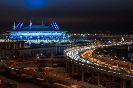 "he new stadium ""Zenith Arena"""