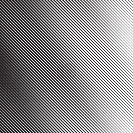 Illustration for Diagonal Lines Pattern in Vector - Royalty Free Image