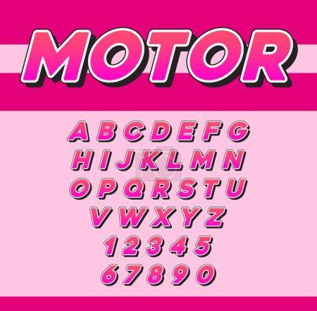 Vector Speed Racing Sport Italic Font