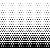Rectangle Halftone Element Monochrome Abstract Graphic Ready for DTP Generic Concepts