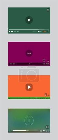 Set of Video Player Window