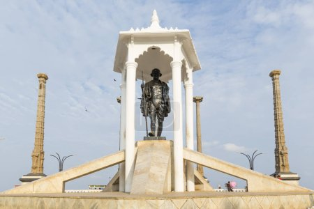 Gandhi statue in India