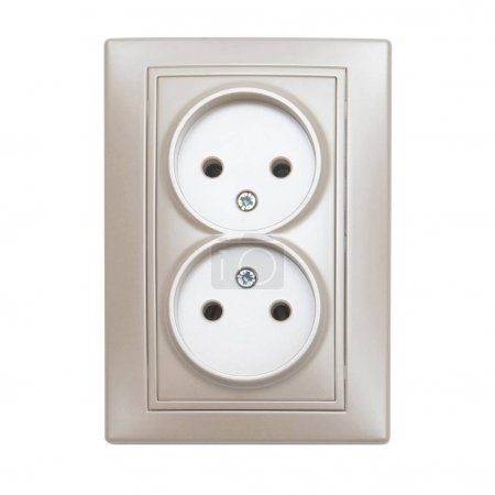 Double electrical outlet