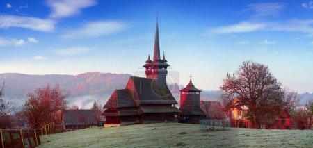 Unique wooden churche