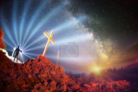 Cross on Mount Strymba