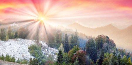 Sokal Ridge in the fall