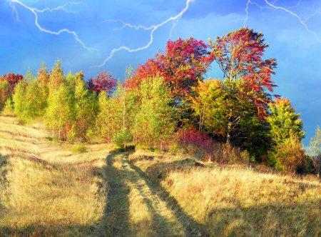 Carpathians mountains at autumn