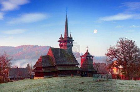 Unique wooden churches