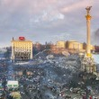 Постер, плакат: Circular 360 degrees panorama of Maidan