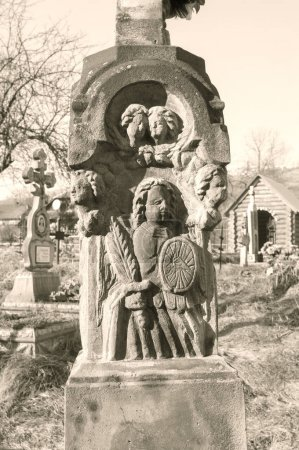 Monuments around the church