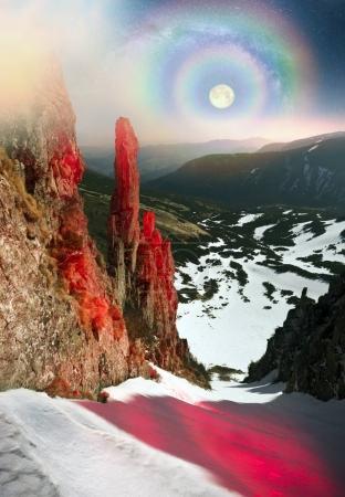 alpine cliff Blackrock