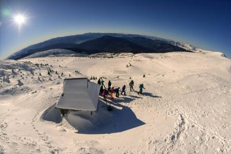 New Year on the slopes of Hoverla