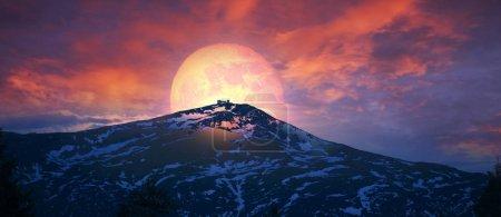 Sunrise over Black Mountain