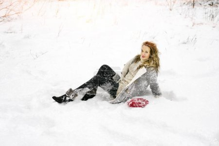 Ukrainian girl on the background of wild nature
