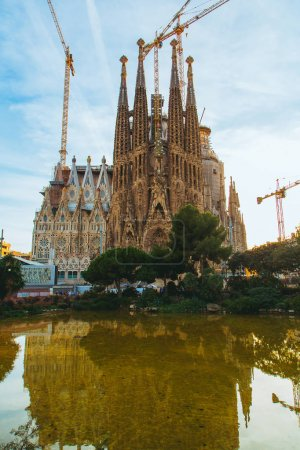 Amazing Sagrada Familia in Barcelona
