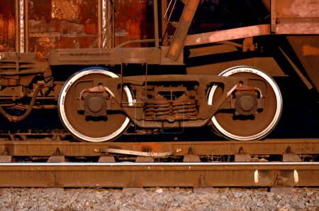 Parts of the freight railcar