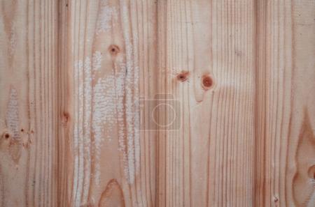 Photo pour La texture des murs en bois altérés. Clôture en planches de bois vieilli de planches plates verticales - image libre de droit