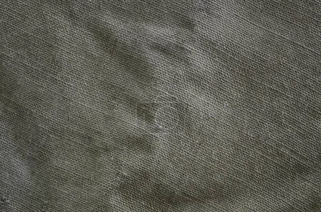 Photo for The texture of a very old brown sack cloth. Retro texture with canvas material. Background image with copy space - Royalty Free Image