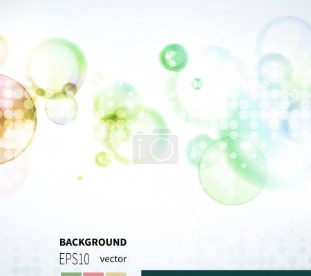 abstract background with bubble.